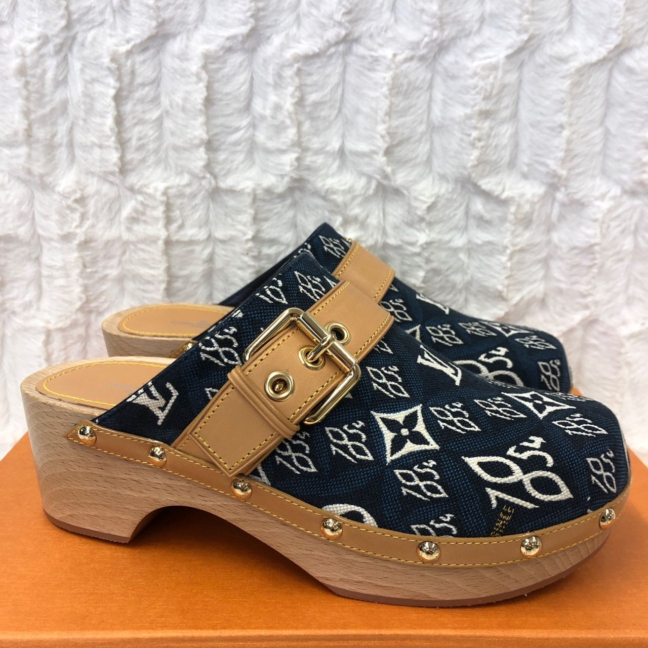 Louis Vuitton Since 1854 Cottage Clog MULES 1A8NUH
