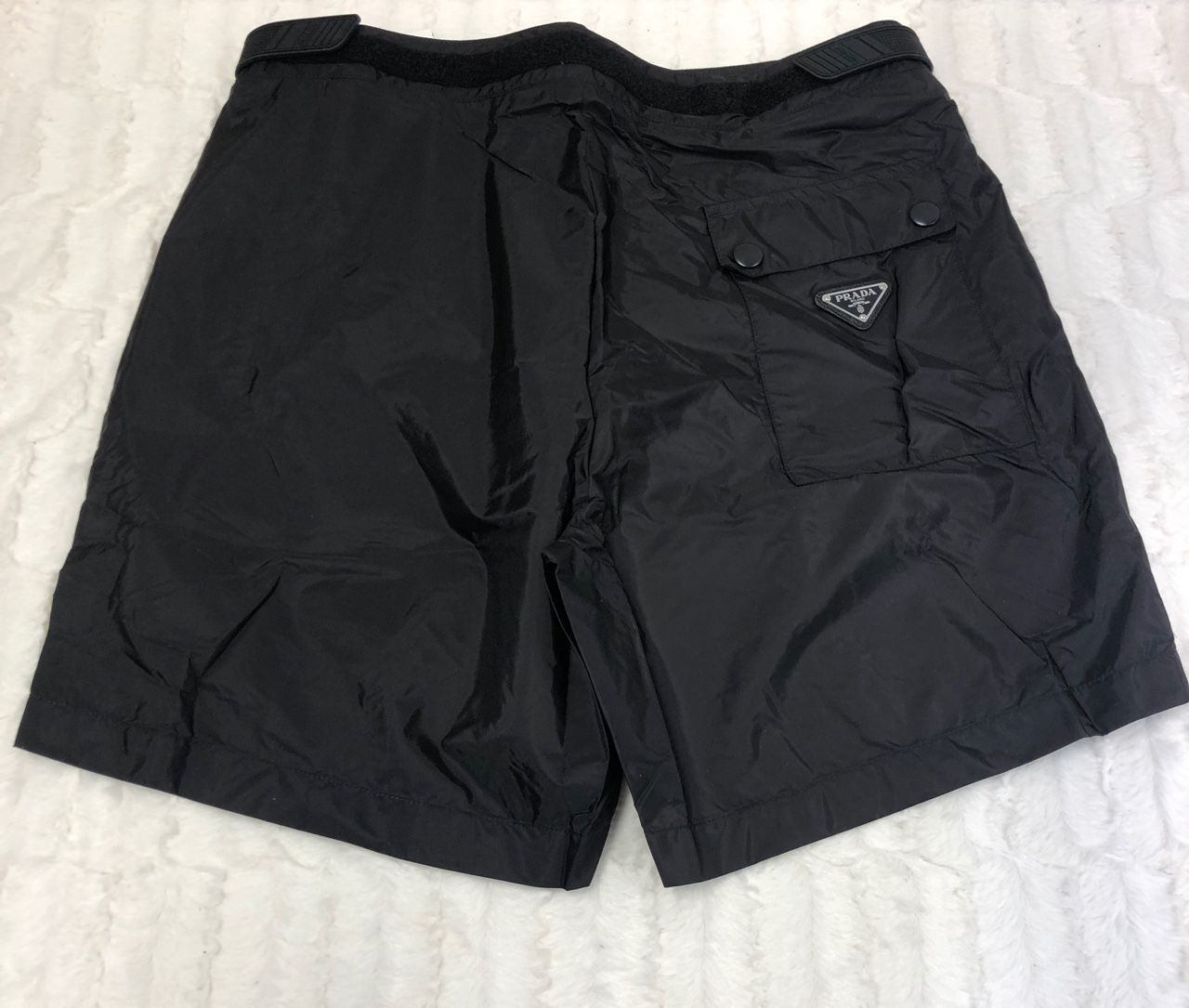 Prada Puma Slim-Fit Mid-Length Logo-Appliqued Swim Shorts Black 9679066509606534
